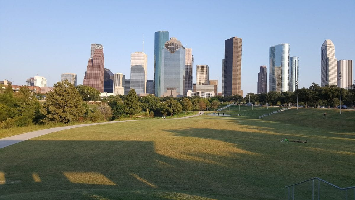 Houston has a surprising number of green spaces