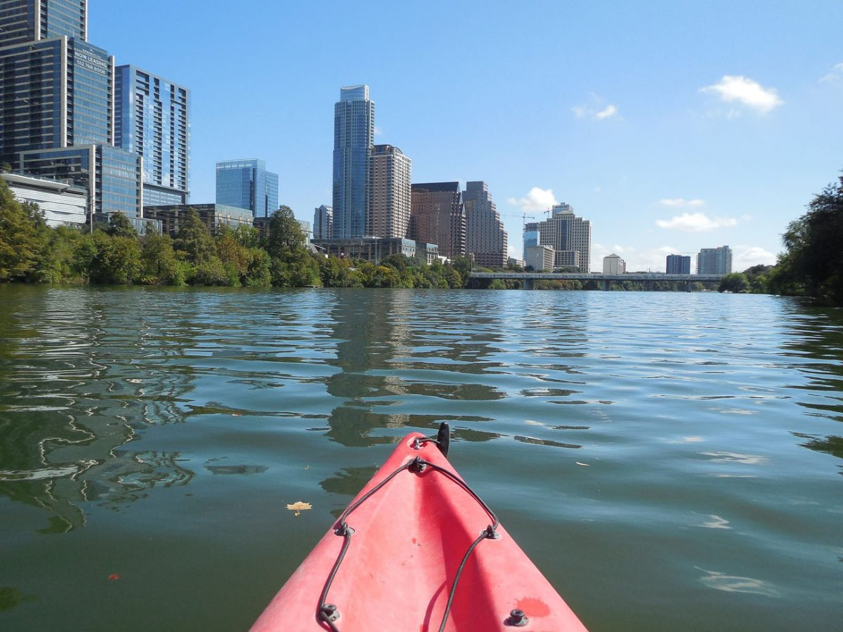Kayaking is one way to see Austin, one of the best cities in Texas