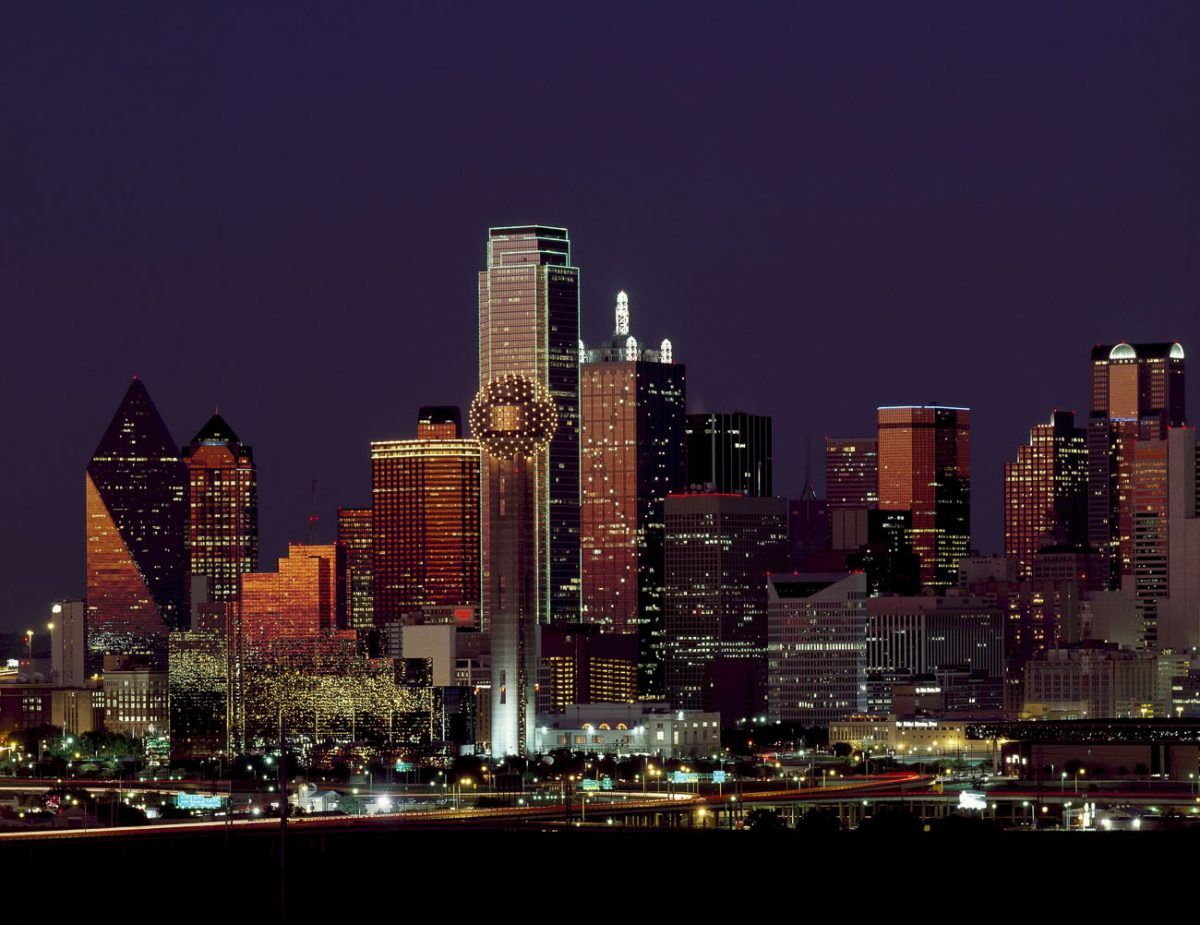 Dallas has an iconic and recognisable skyline