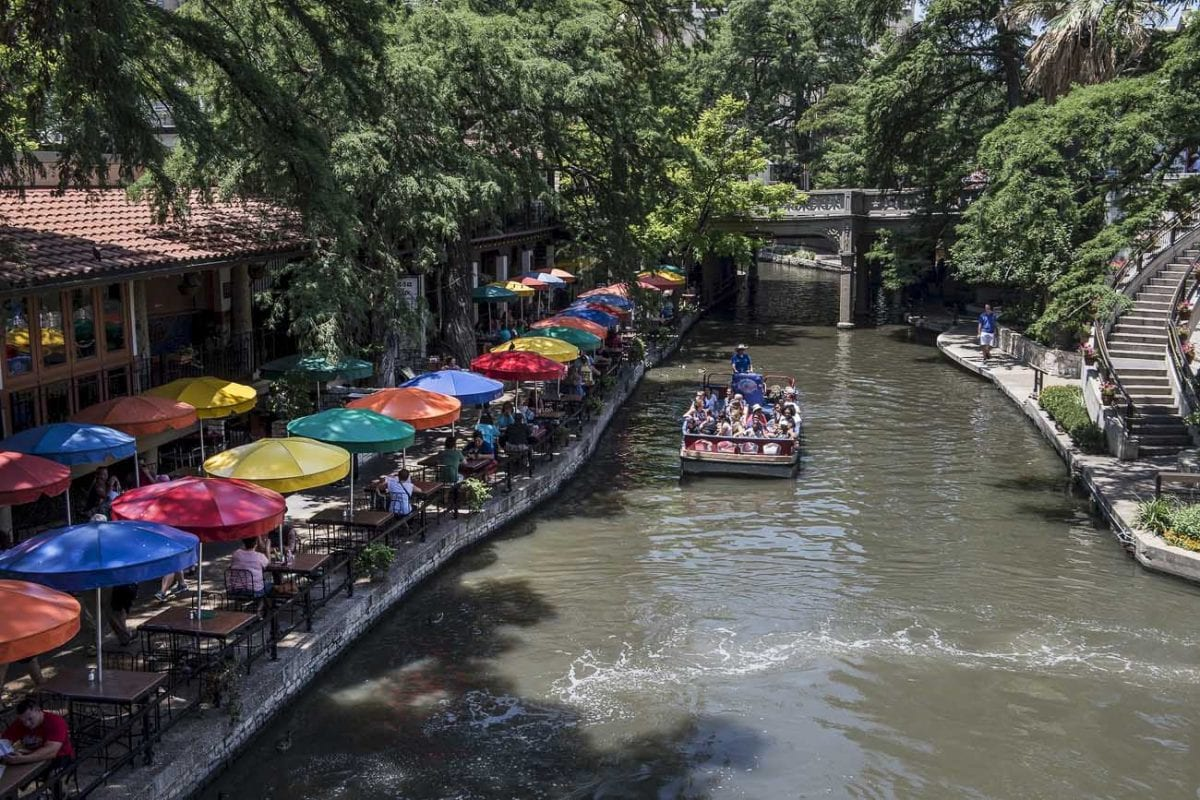 San Antonio's River Walk is a must visit when in the city