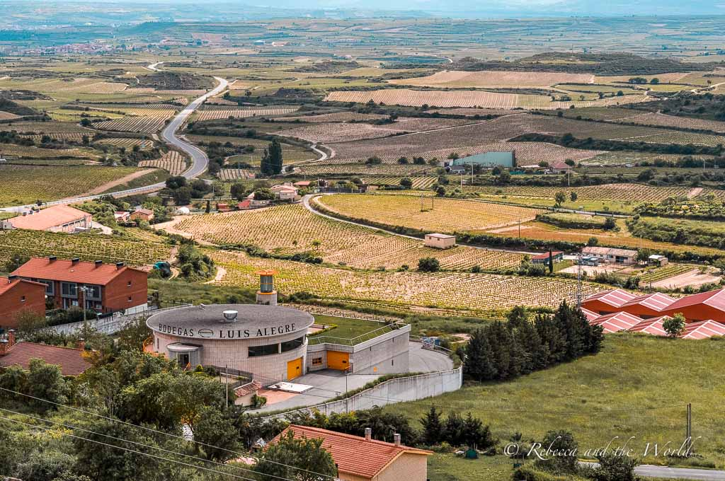 It's possible to taste wine in Spain's most famous wine region. Taking a day trip to La Rioja wine region is one of the best things to do in Bilbao.