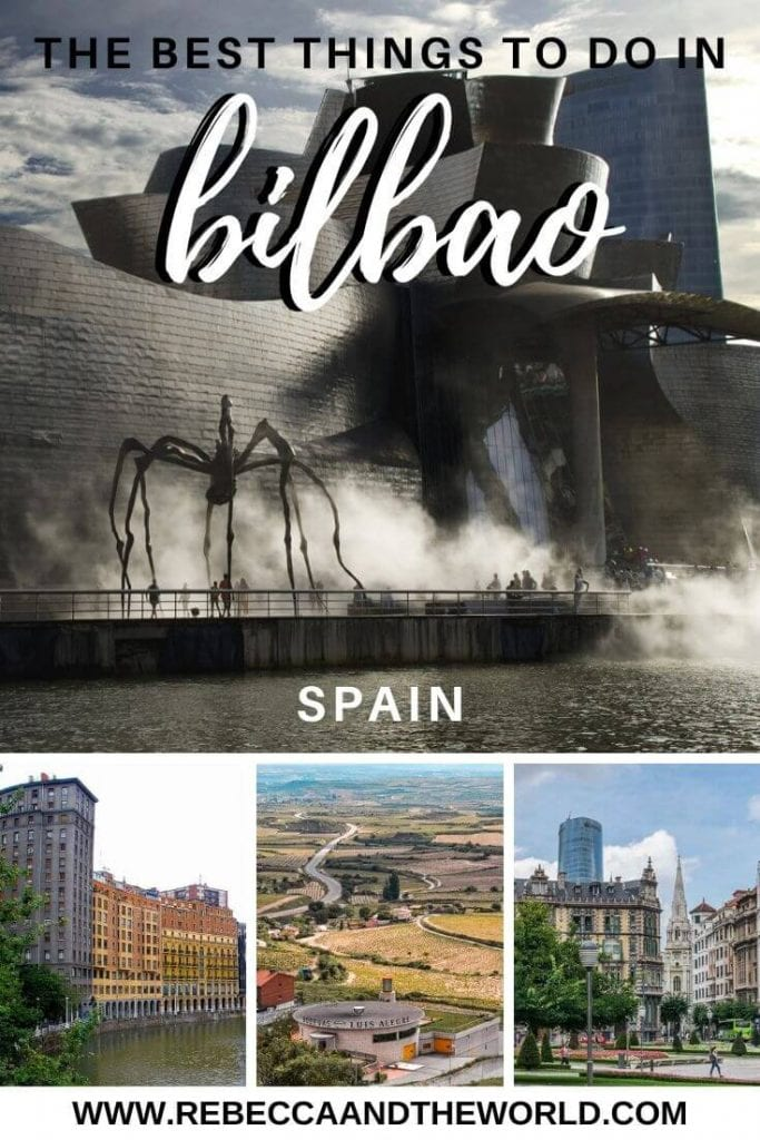 Discover the best things to do in Bilbao, northern Spain, with this travel guide. Click through to discover the best things to do in this city full of culture and great food.   #spain #bilbao #travel #spaintravelguide #thingstodoinbilbao #BasqueCountry #europetravel