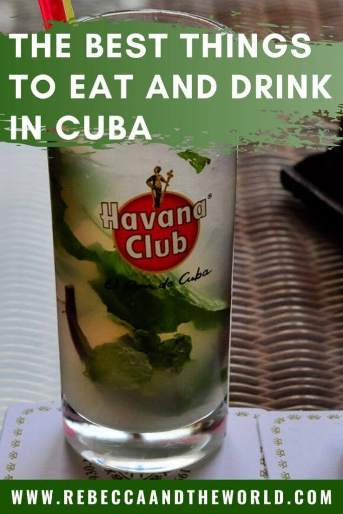 People may tell you Cuban food is bland and lacklustre - but don't listen to them. When you visit Cuba you'll find the food is pretty good - if you know what to eat in Cuba. From traditional Cuban dishes to amazing restaurants in Cuba, check out this guide on Cuban food.   #cuba #cubanfood #cubatravel #travel