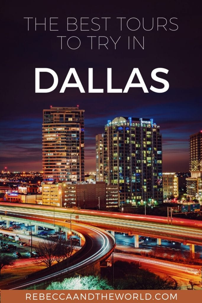 Visiting Dallas? Join one of these Dallas tours to experience the best of the city! From food to history to sport, there's a tour for everyone! | #dallas #texas #dallastx #dallastours #texastravel #tourtexas #usatravel #dallasthingstodo