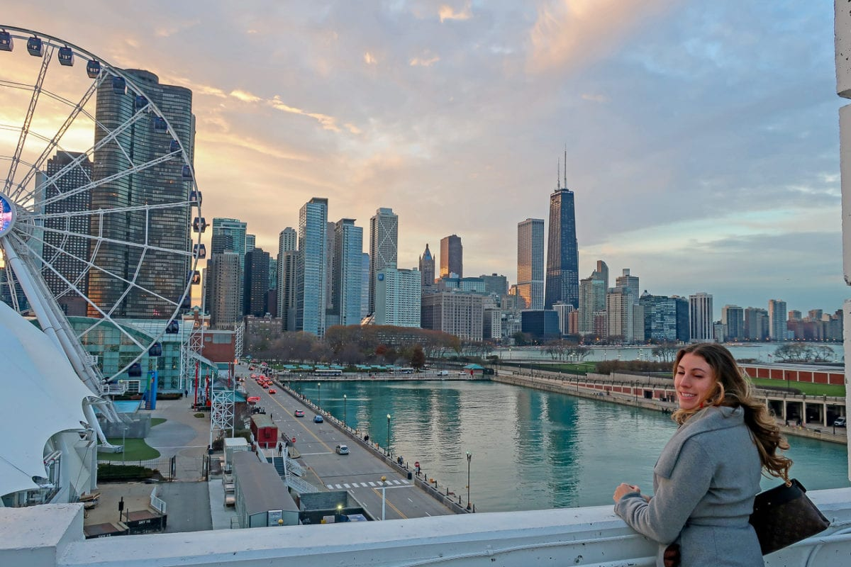 There's a secret - and free - way to get a great view of Chicago