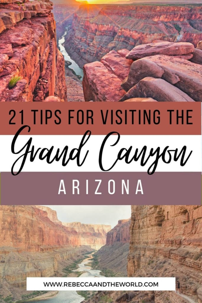 Visiting the Grand Canyon for the first time? These Grand Canyon tips will help you make the most of your visit to this beautiful national park. | Grand Canyon | Grand Canyon Tips | Things To Do in Grand Canyon | Visit Grand Canyon | Arizona Travel | Grand Canyon National Park | #GrandCanyon #Arizona #USATravel #nationalparks #VisitGrandCanyon #USANationalParks