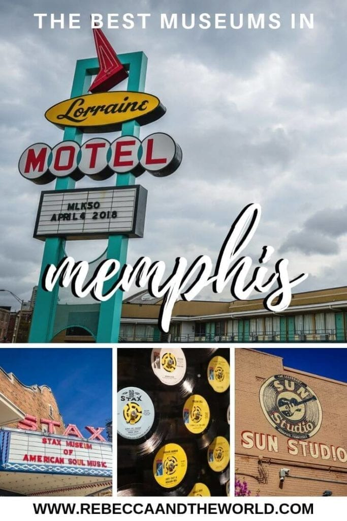 Memphis, Tennessee, has plenty of great museums to keep you busy. From rich music history to museums that showcase the city and the United States's civil rights milestones, check out this guide to the best Memphis museums to visit. | #memphis #memphisTN #tennessee #music #civilrights #memphisthingstodo #usatravel #unitedstates