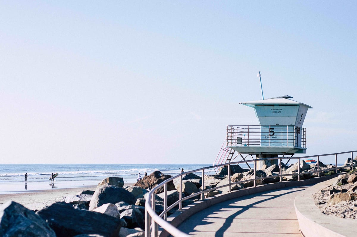 San Diego is a photographer's dream location - the beaches are beautiful and quintessentially Californian