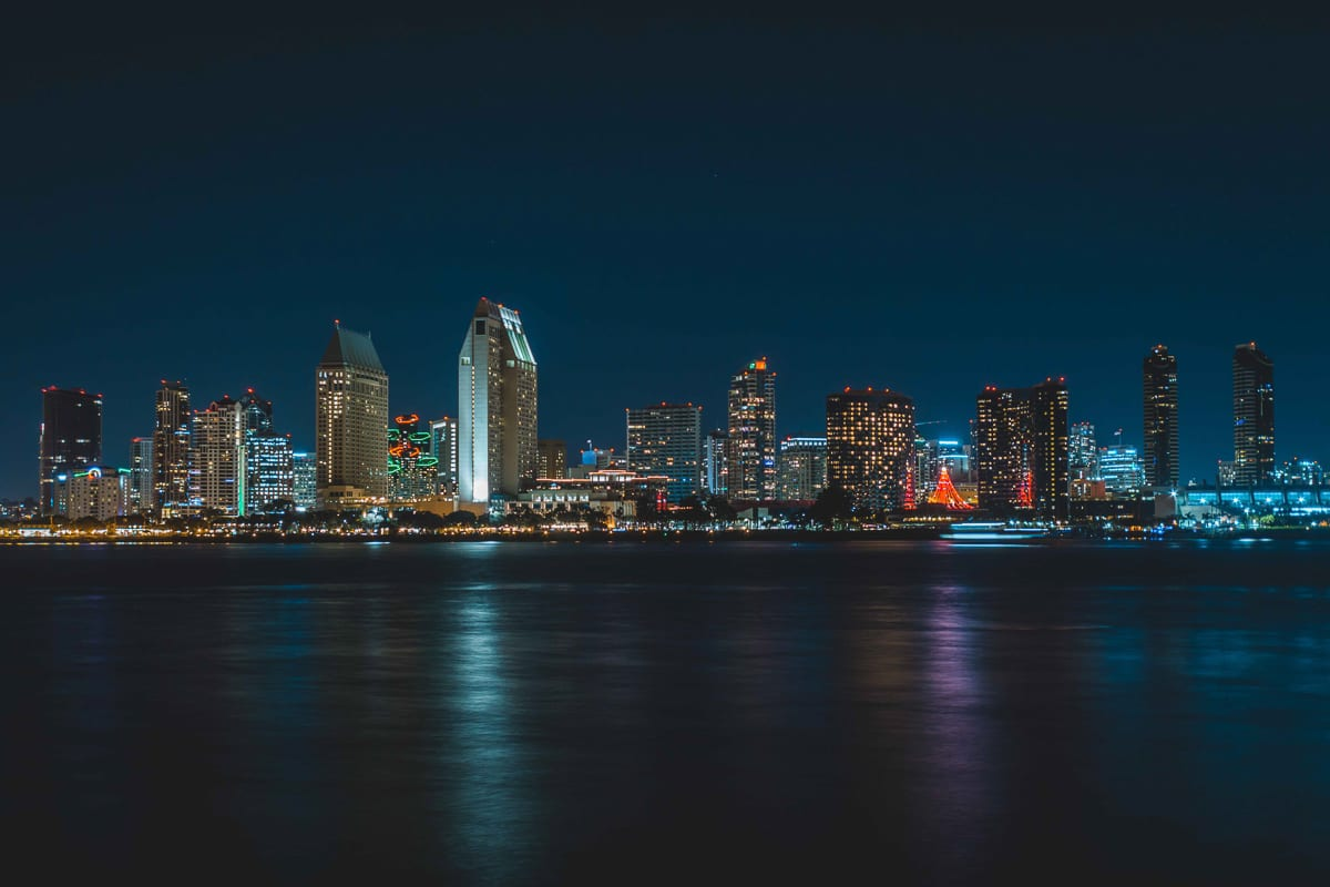 The San Diego skyline is a sight to behold