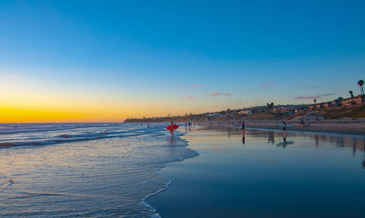 There are so many beaches to add to your San Diego itinerary, you could easily spend a few days or a week exploring them all