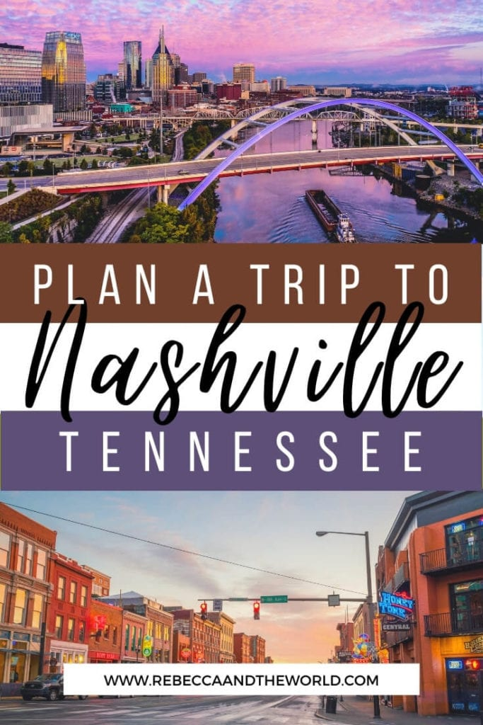 Planning a trip to Nashville? Our guide to Music City shows you what you absolutely must do on your first visit to Nashville, as well as some insider secrets to get you away from the tourist crowds. Read on! | #nashville #musiccity #nashvillethingstodo #tennessee #usatravel #usa