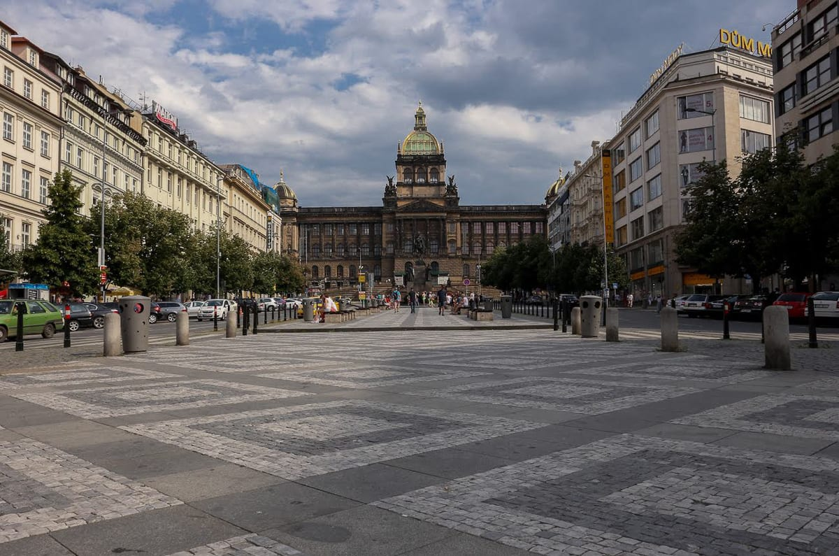 Add Wenceslas Square to your Prague Itinerary, home to the National Museum