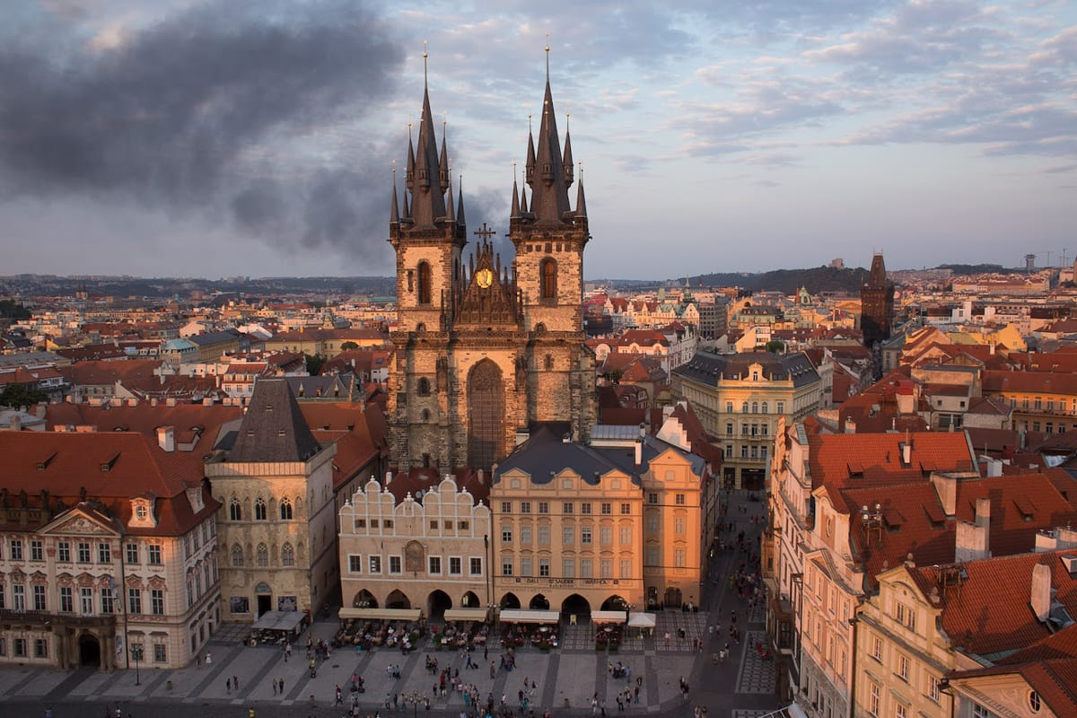 You can't visit Prague without stopping by the beautiful Old Square