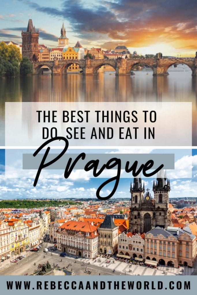 Planning to visit Prague? Check out this insider's guide for first-time visitors and regular visitors alike! Find out what tourist attractions you must add to your Prague itinerary, along with the hidden gems that only locals know about. | #prague #czechrepublic #pragueitinerary #praguethingstodo #citytravelguide #praguetravel #europetravel