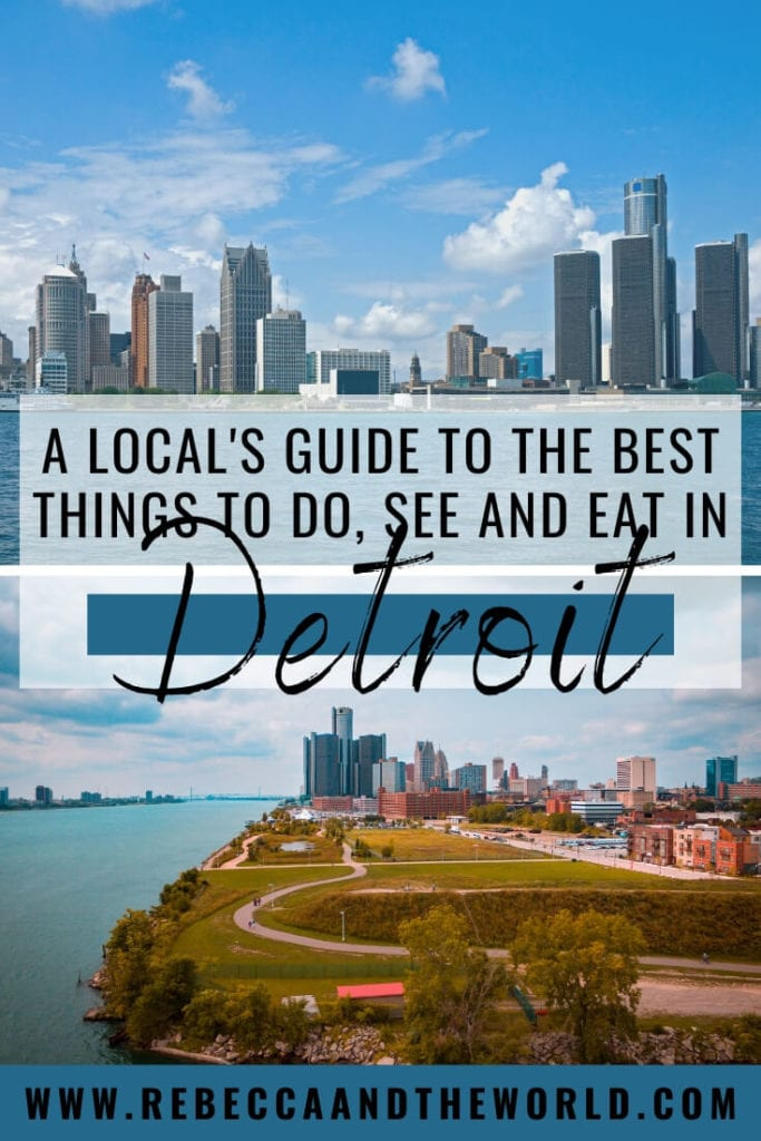 There's no doubt that Detroit, Michigan is going through a huge revival and now is the time to visit. From the best of the hot restaurant scene to museums and architecture, read on for an insider's guide to the best things to do on a weekend in Detroit. | #detroit #visitdetroit #michigan #usatravel #detroittravelguide #detroitthingstodo