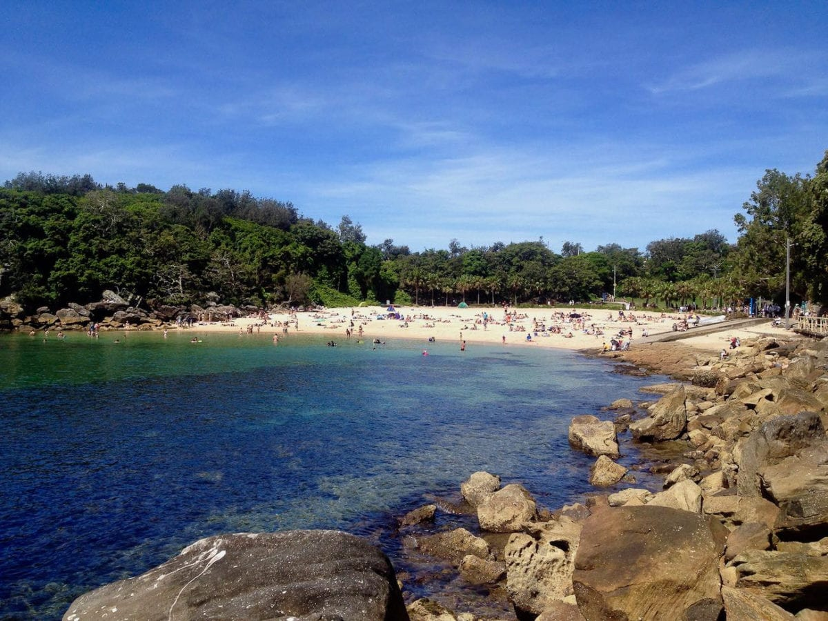 Another of the popular beaches in Sydney is Shelly Beach, where you can even go snorkelling