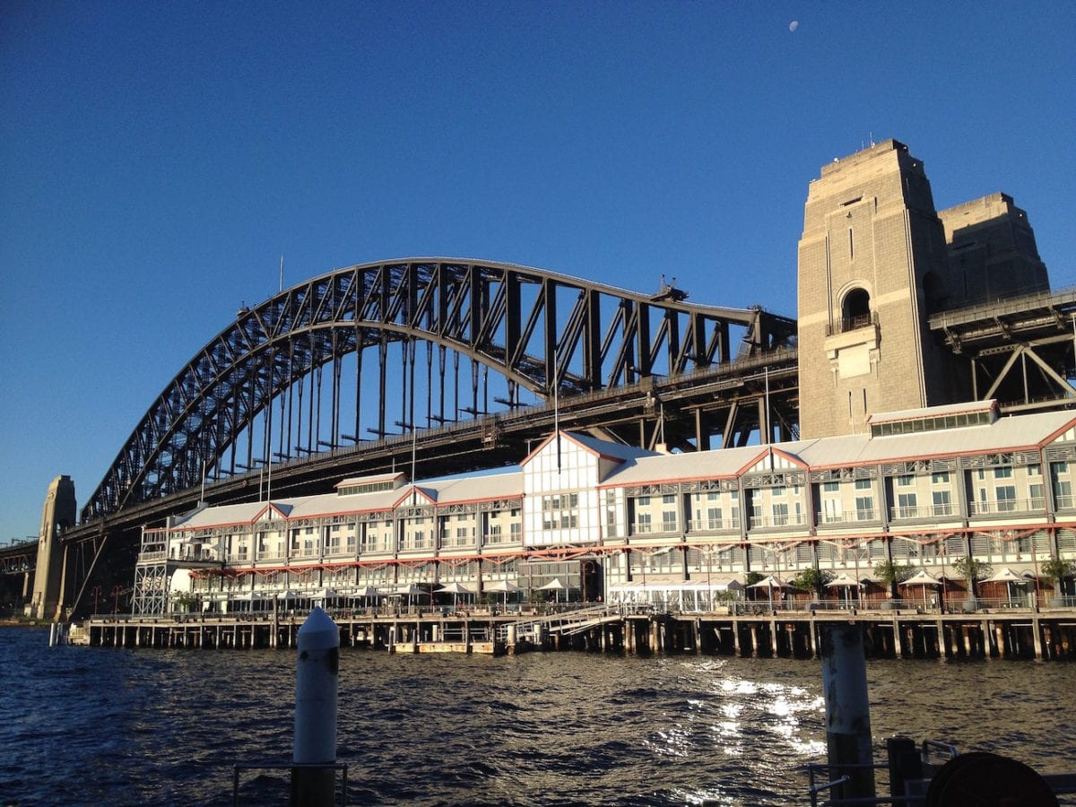 The Sydney Harbour Bridge is one of the most popular things to see in Sydney, Australia