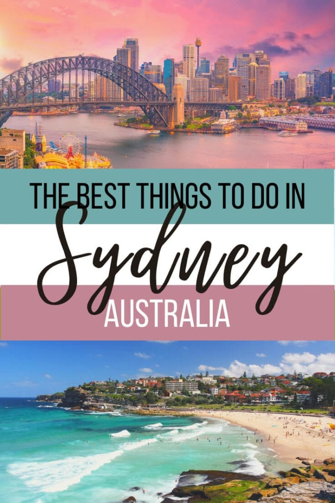 What to do in Sydney, Australia: Glamourous beaches, stunning views and delicious food, Sydney really does have it all. This insider's guide to Sydney shares tips on what you must do on your first visit as well as local secrets. | #sydney #australia #australiatravel #sydneythingstodo #sydneytravelguide #destinationNSW