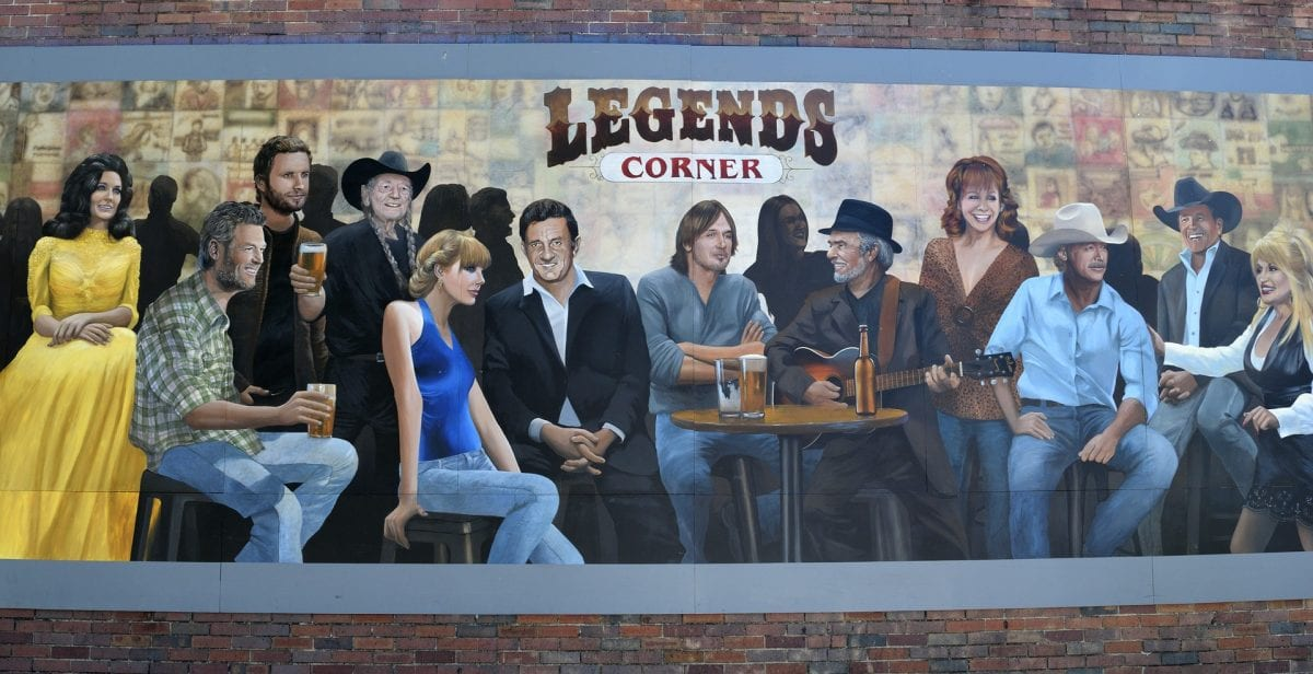Many musical legends have stopped by Nashville to play music