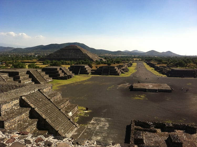 Teotihuacan is an ancient site outside of Mexico City