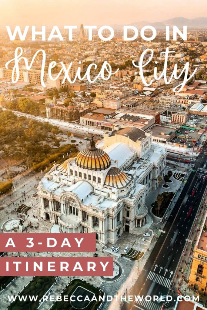 It's no secret that Mexico City is a big city, so big that you couldn't possibly fit everything in to 3 days in Mexico City. But this guide will help you fit in the best things to do in Mexico City, as well as where to stay and some handy Mexico City travel tips! | #mexicocity #mexico #weekendguide #3daysinmexicocity #foodietravels #thingstodoinmexicocity #mexicocityitinerary