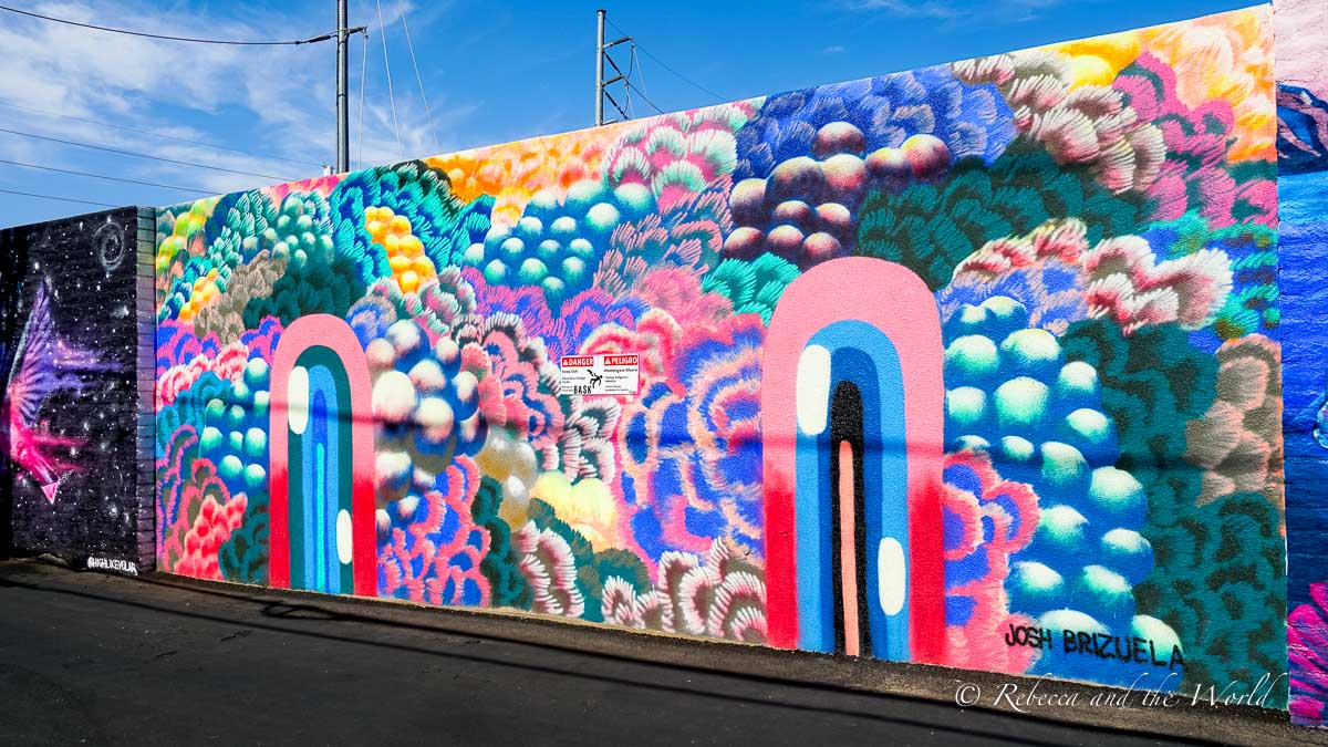 Make sure you include street art on your Phoenix itinerary