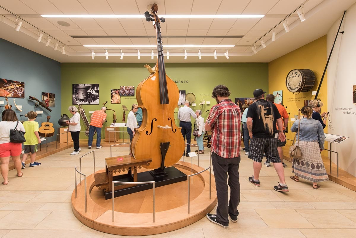 The Musical Instrument Museum in Phoenix is a must-visit on a weekend in Phoenix itinerary