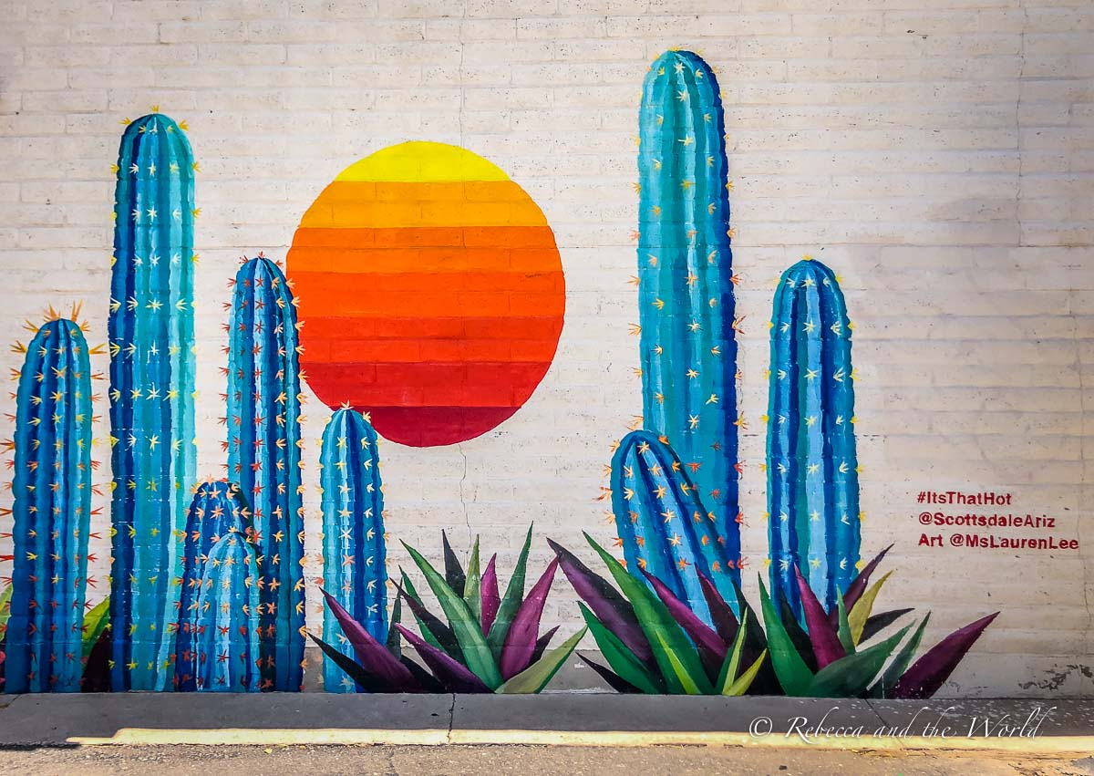 Scottsdale is a fun suburb to visit in Phoenix