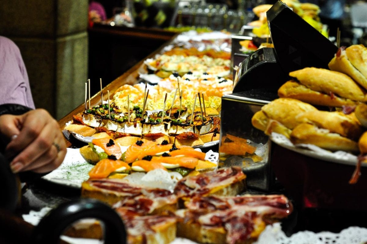 Undoubtedly one of the best things to do in San Sebastian is to try local pintxos, bite-sized morsels of delicious food