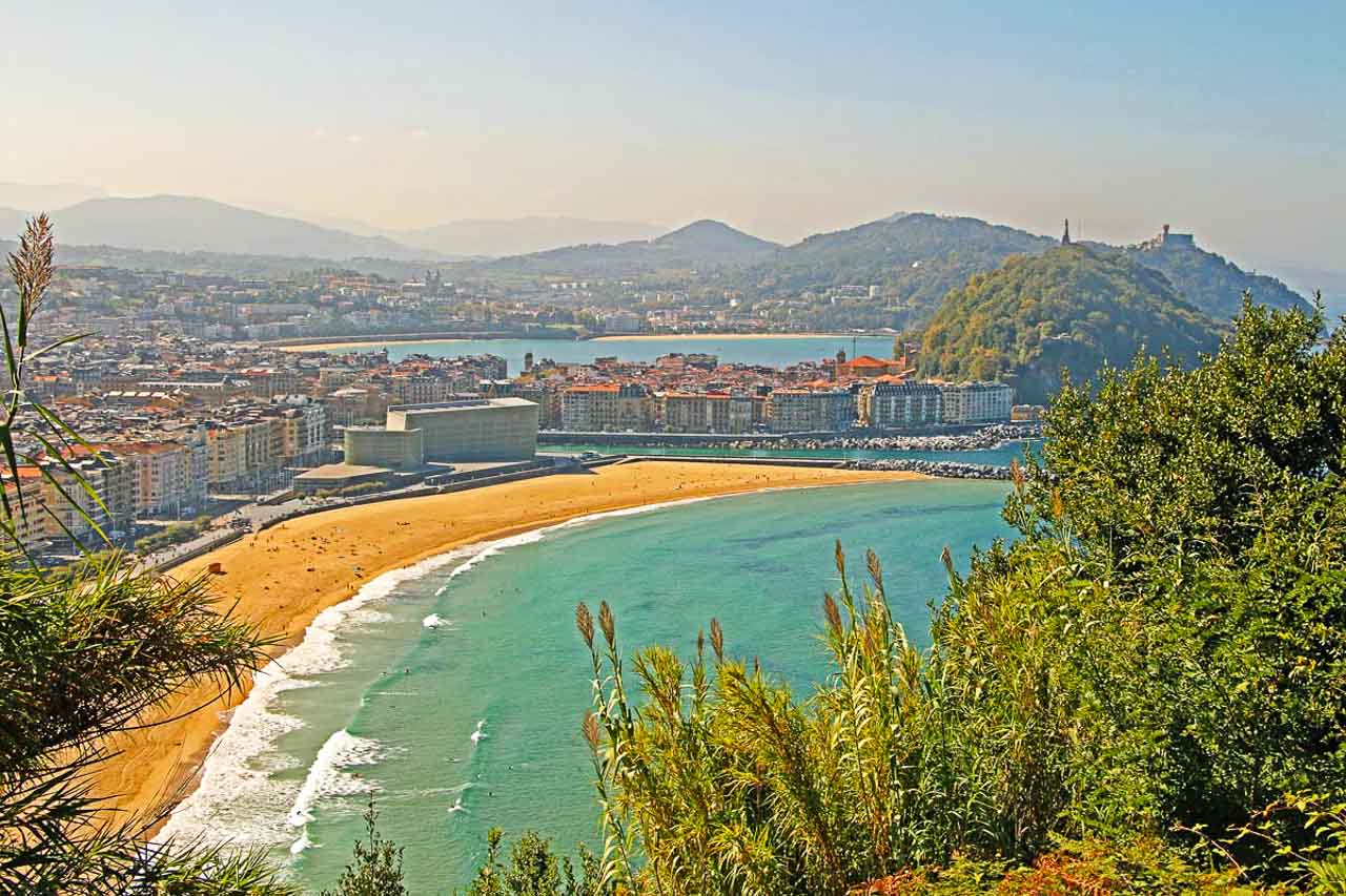There are also great hiking trails around San Sebastian in northern Spain