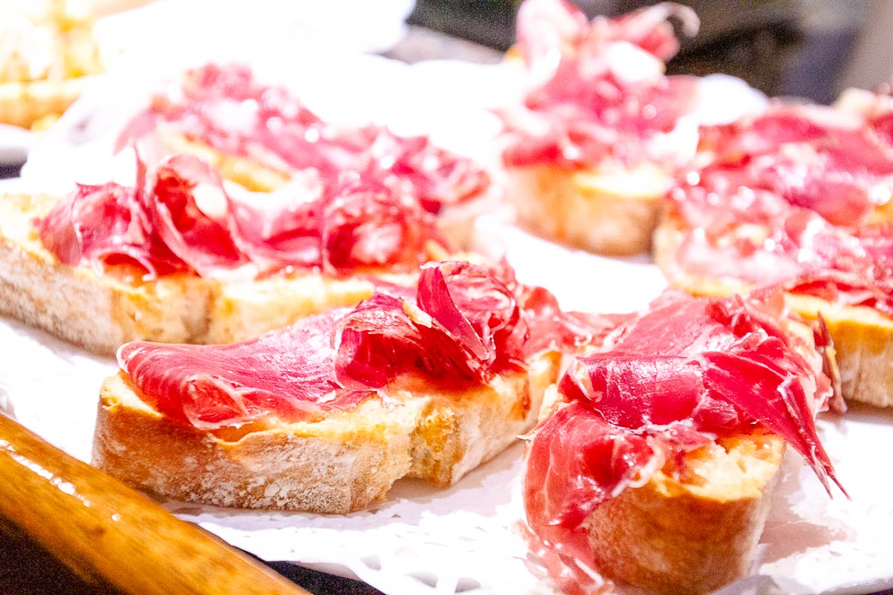 After trying pintxos at the local bars, try your hand at making them yourself