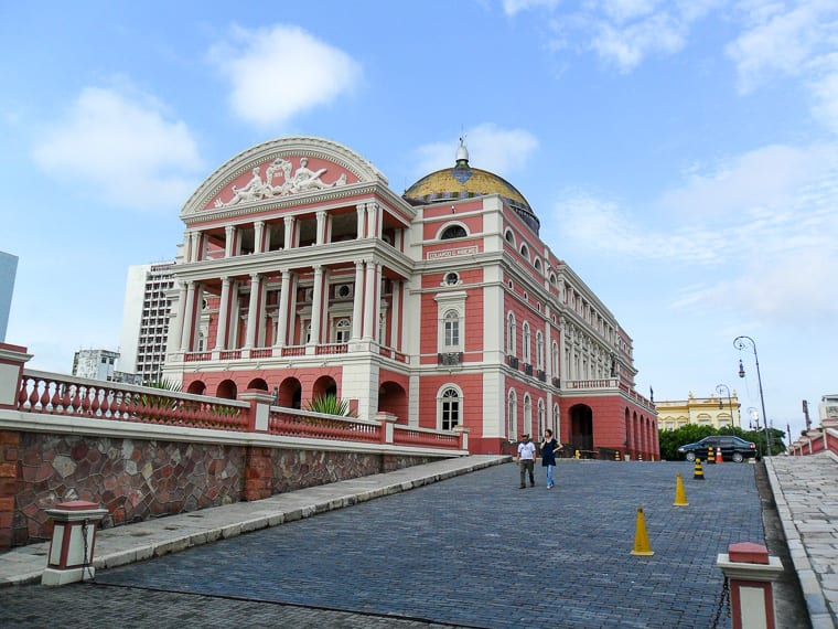 In the heart of the rainforest, Manaus is the biggest city along the Amazon River, and an incredible place to visit in Brazil