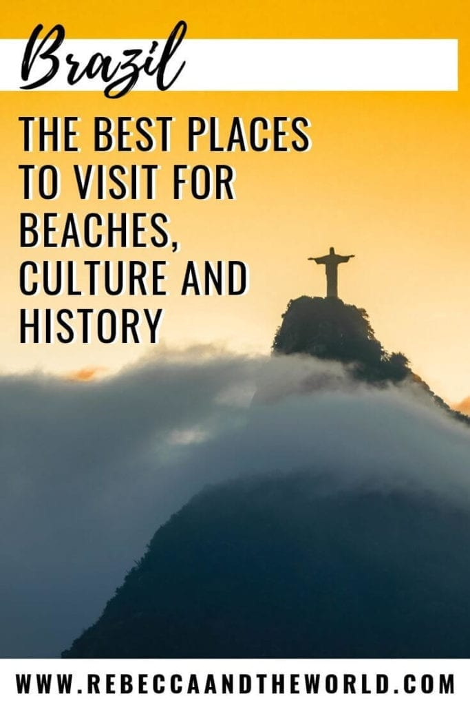 Wondering what to include on your Brazil itinerary? This list of the best places to visit in Brazil will have you experiencing beaches, culture, wildlife, architecture and history. Click through to see why Brazil is one of the most beautiful countries in the world. | #Brazil #SouthAmericatravel #Brazilthingstodo #travel #BrazilTravel
