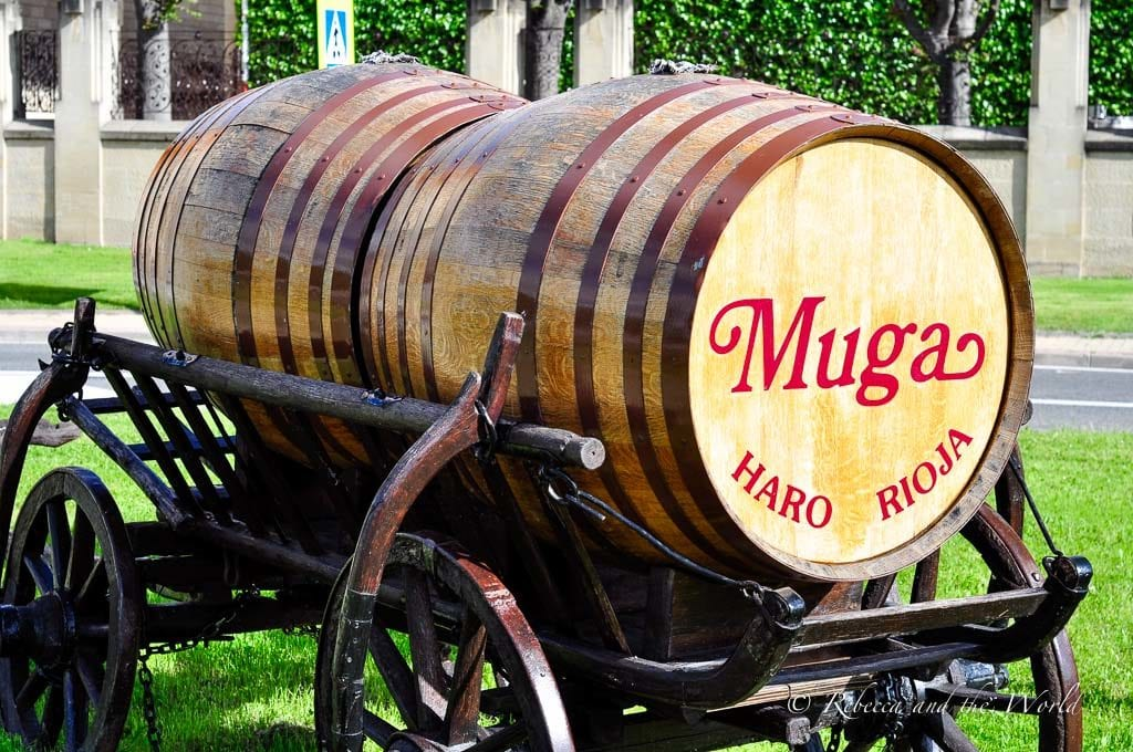 Bodegas Muga is one of the best wineries in La Rioja and easy to visit