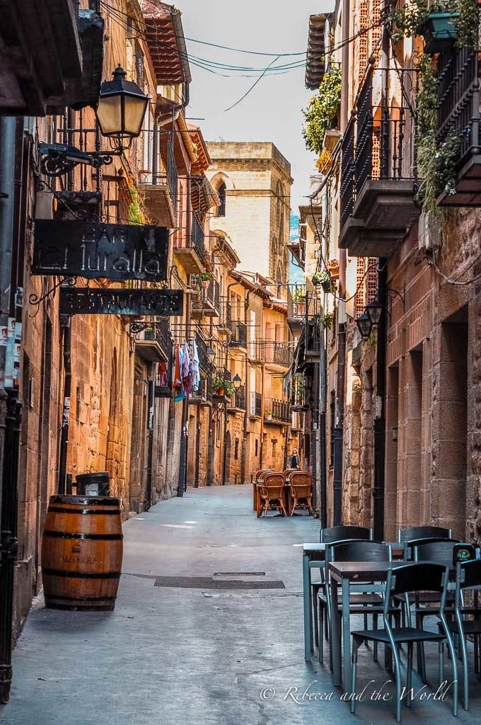 There are many gorgeous villages sprinkled throughout La Rioja wine region
