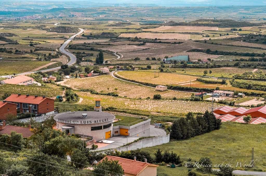 La Rioja is a beautiful wine region in Spain - one of the best ways to visit is a La Rioja wine tour