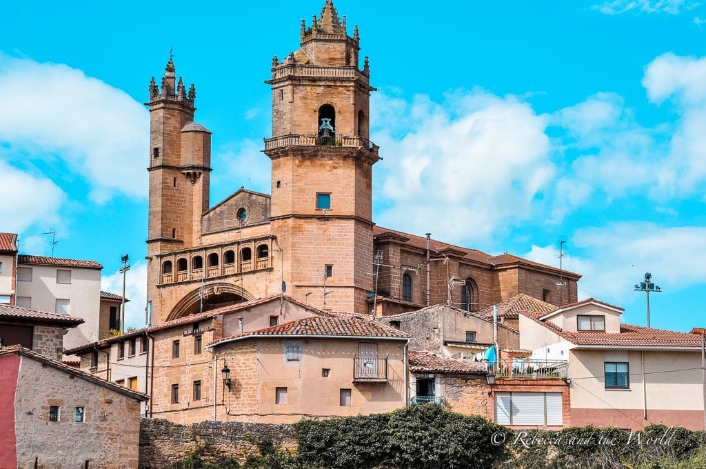 You'll find plenty of gorgeous Spanish architecture in the La Rioja wine region