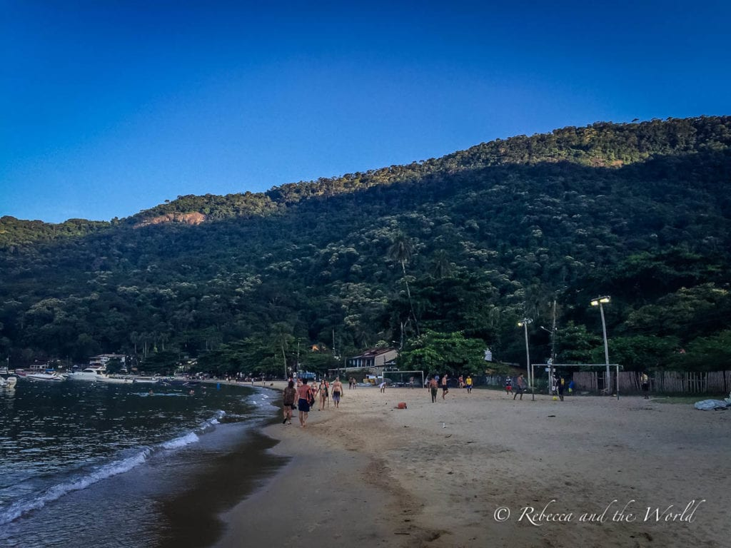 Relax on one of the great beaches in Ilha Grande - it's one of the best things to do here