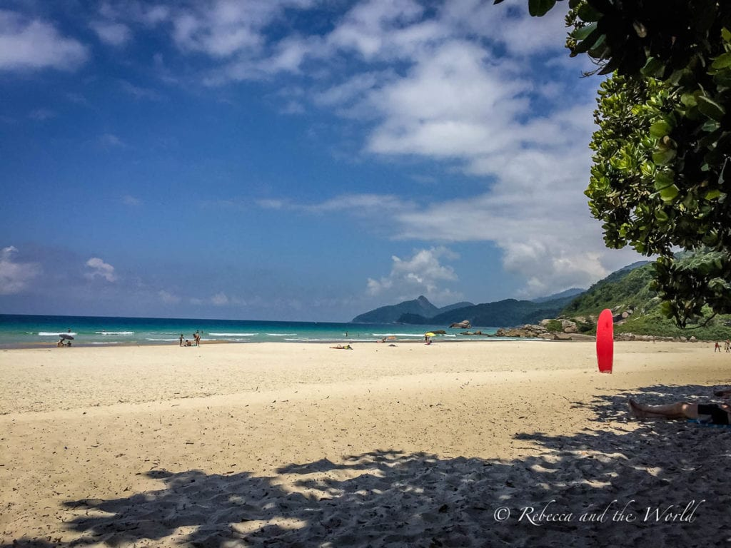 It's not hard to see why Lopes Mendes Beach is often voted as one of the best beaches in the world