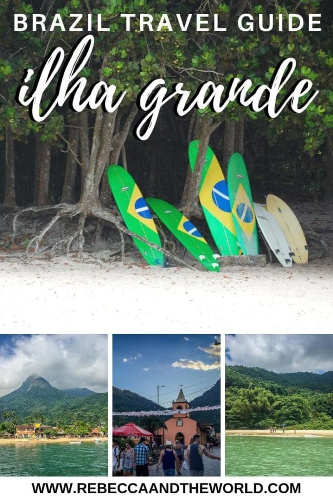 Just a short trip from Rio de Janeiro, Ilha Grande is a tropical island just waiting for you to visit. Here are the best things to do in Ilha Grande, from beaches to food to chilling out. Click through to save this Ilha Grande travel guide for your trip! | #ilhagrande #brazil #braziltravel #riodejanerio #ilhagrandethingstodo #brazilbestbeaches #southamerica #southamericatravel