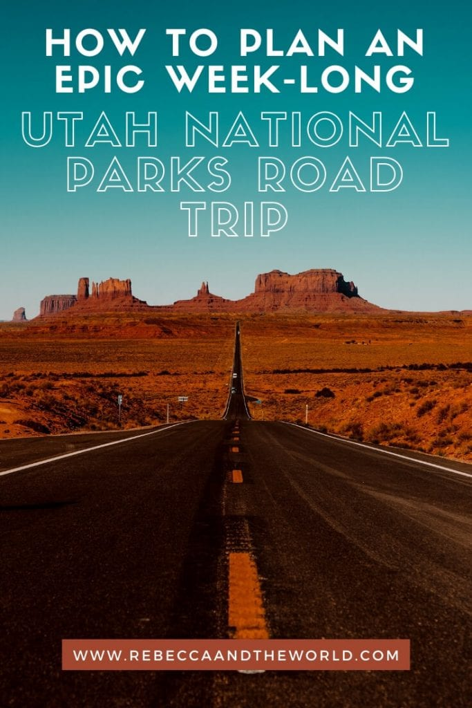 Want to see five national parks in a week? Try this 7-day Utah national parks road trip which takes you through Utah and Arizona!   #zionnp #brycecanyon #roadtrip #Utah #canyonlands #archesnp #Arizona