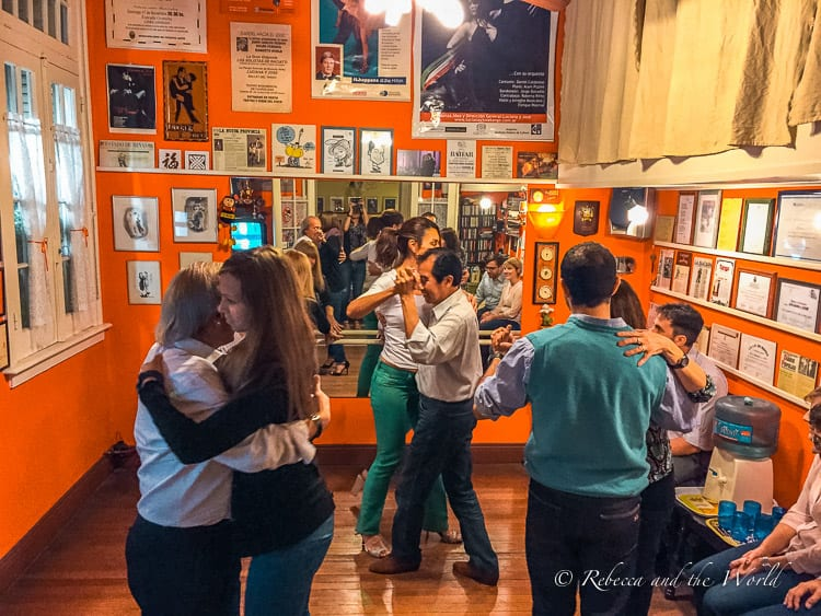 Have a private tango lesson before you hit the floor of a milonga in Buenos Aires