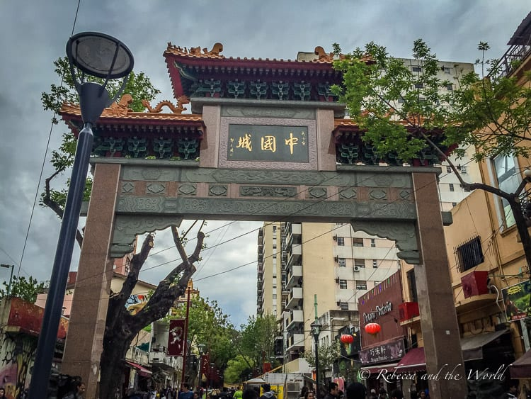 Chinatown in Buenos Aires is an interesting place to visit