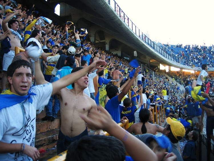 Visiting a football match in Buenos Aires is a crazy experience!