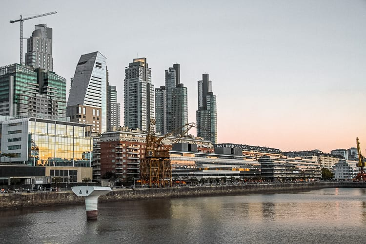 Wander the waterways of Puerto Madero, in Buenos Aires, Argentina