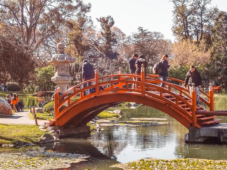 The Jardin Japones in Buenos Aires, Argentina, is one of the largest Japanese gardens outside Japan