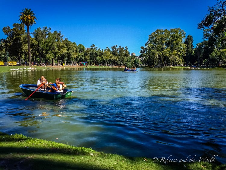There are plenty of gorgeous parks to visit in Buenos Aires