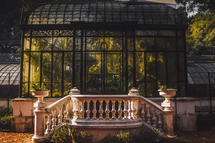 The Jardín Botánico Carlos Thays in Buenos Aires, Argentina, is a beautiful place to visit in Buenos Aires