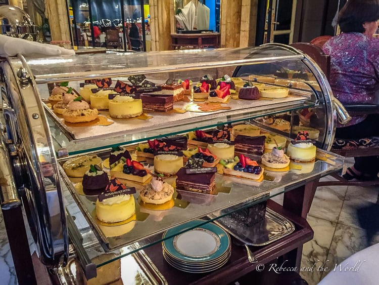 Take high tea at the fancy Alvear Palace Hotel in Buenos Aires, Argentina