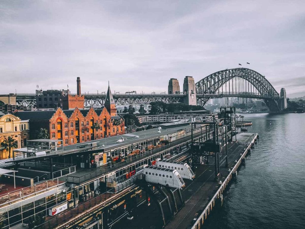 The Sydney Harbour Bridge is an iconic image of Sydney. You can walk it, bike it, drive a car across it or even climb to the top!